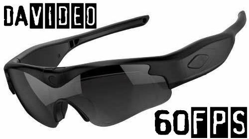 16GB daVideo Rikor 60fps Video Camera Sunglasses Recording HD 1080p Spy Glasses 1080p 16gb 60fps camera davideo Featured recording rikor spy sunglasses video