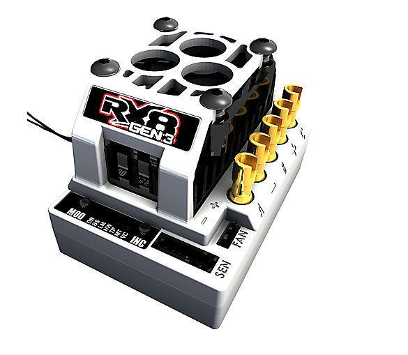 Tekin, Inc 1 8 RX8 Gen3 BL Sensorosso Sensorless Dual Mode ESC TEKTT2302