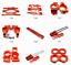 Aluminum Alloy metal Parts For 1//5 Traxxas X-Maxx Truck RC car Upgrade Parts red