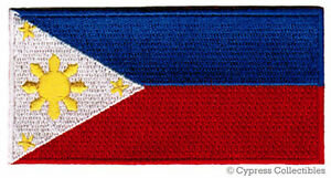 PHILIPPINES-FLAG-embroidered-PATCH-FILIPINO-PINOY-new-ISLANDS-IRON-ON-applique