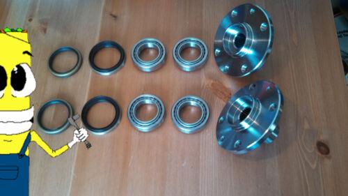 Front Wheel Hub Bearings /& Seals Kit Assembly for Kia Rio 2001-2002 PAIR TWO