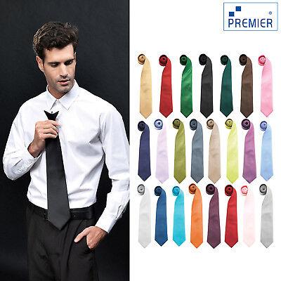 Premier Colori Alla Moda Cravatta Clip In Metallo (pr785) - Chiusura Con Lacci Fashionwear-mostra Il Titolo Originale I Clienti Prima Di Tutto