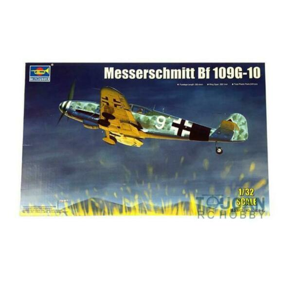 1//32 Scale Trumpeter Messerschmitt Bf109-10 German Fighter Model Kit