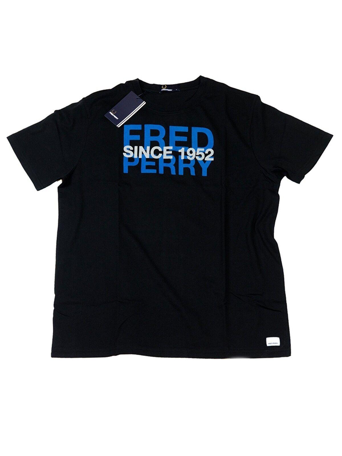 Frosso Perry T-Shirt Nero/Blu 102 m6341 102 Nero/Blu  5504 3835f3