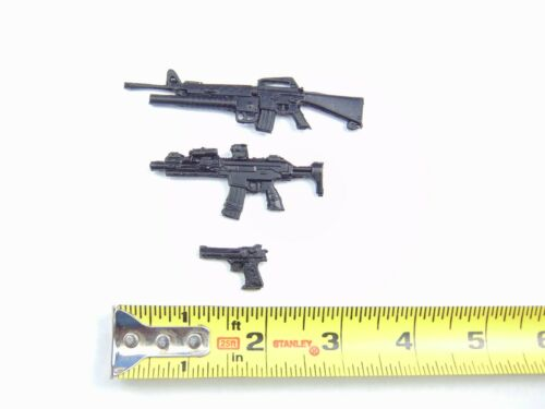 Custom Weapons 1:12 Scale 6 Inch Figures M16 G36 Desert Eagle Arsenal Pack 3 PCS