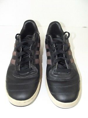 adidas David Beckham Brown Leather Stripes Casual Sneakers shoes Men's Sz. 10   eBay