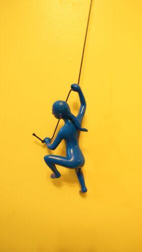 Buy 4 Get 1 Free Exclusive New blue Climbing Man//GIRL wall art BIG home decor