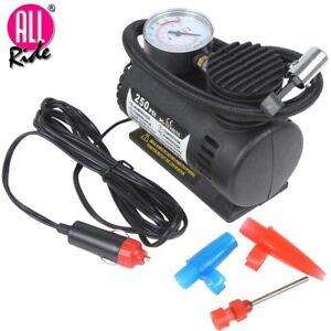 Mini compressore portatile 12v 250 psi per auto camper for Mini compressore portatile per auto moto bici 12v professionale accendisigari