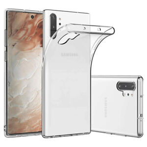 Coque Etui Protection Silicone Souple Transparent Samsung Galaxy Note 8/9/10/Pro