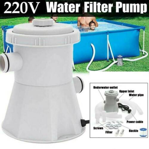 Electric Swimming Pool Filter Pump Water Cleaning System for Above Ground Pool D