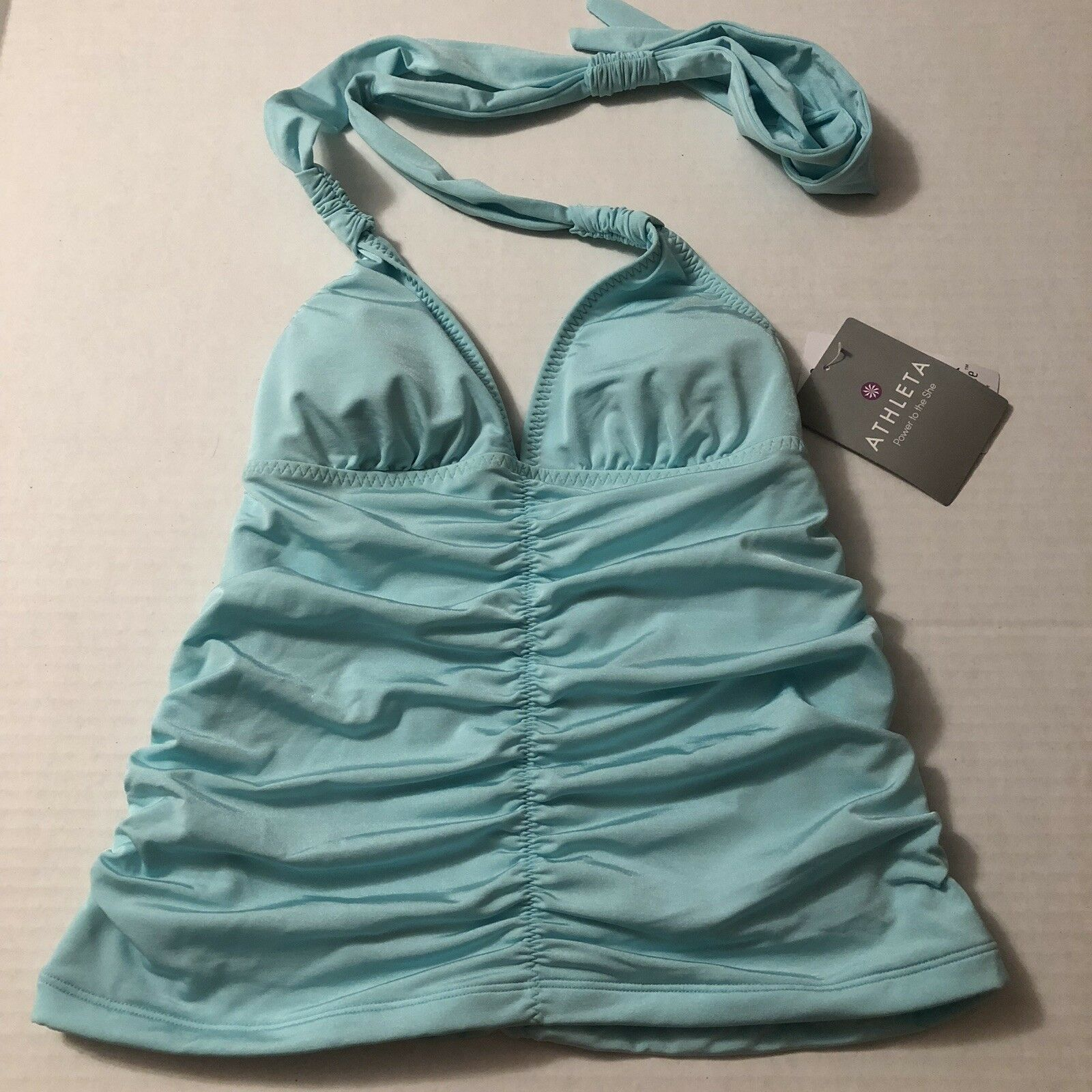 Athleta Tankini Top Aqualuxe Size XXS NWT 492070 A5