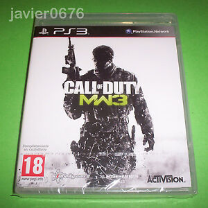 CALL-OF-DUTY-MODERN-WARFARE-3-NUEVO-Y-PRECINTADO-PAL-ESPANA-PLAYSTATION-3-PS3