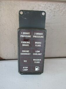 ROLLS ROYCE SILVER SPUR STOP LAMP FAILURE UD18982 WARNING DASHBOARD LIGHT UNIT