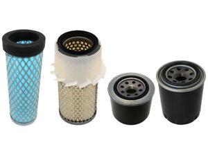 Filtres Carburant Kubota KX41-2 Kit Filtre Air Huile