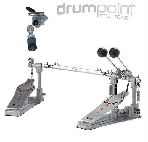 Pearl Demonator P-932 Doppelfußmaschine Pedal inkl Dixon Drop Clutch  *TOPDEAL*