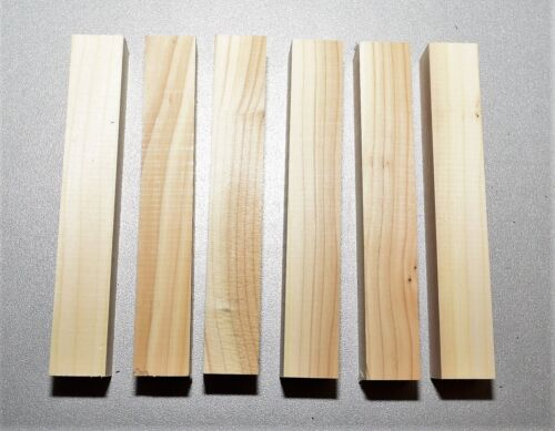 22 Penblanks 13x2x2 cm Drechselholz Holz für Schmuckherstellung Bastelholz