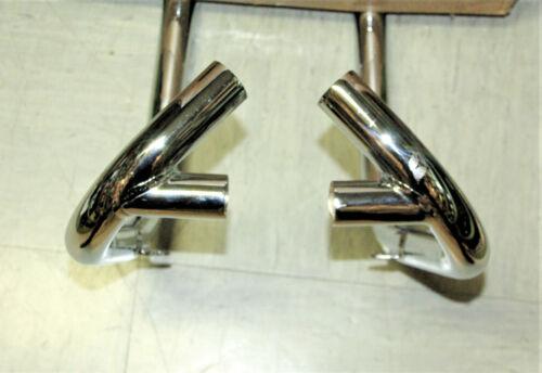 650 OIF 1972 Triumph exhaust Pipe PAIR Krümmer 71-3636//7 E12636 E12637 PUSH IN