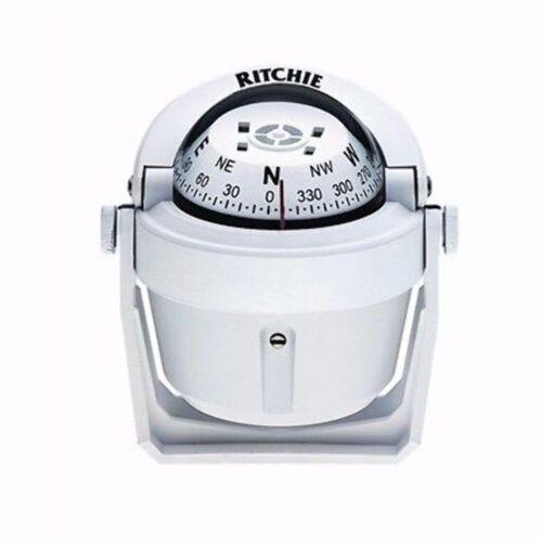 Ritchie Explorer Compass B-51-W Bracket Mount Designer White MD