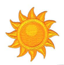 an92 Sonne Stern Aufnäher Sun Bügelbild Patch Applikation Kinder 5,4 x 5,4 cm