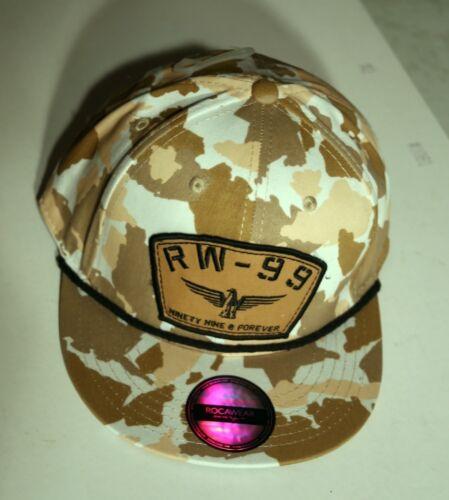 NWT Rocawear RW99 hat camouflage