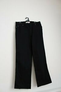 Brand-New-with-Tags-Jeanswest-Straight-Denim-Jeans-Black-Size-38