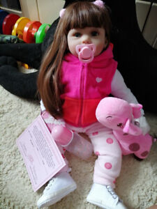 Zero Pam Reborn Toddler Girls Dolls Soft Body Silicone Real Life Babies Doll 24 890261170785 Ebay