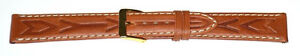 16mm-FLEURUS-EMBOSSED-TAN-STITCHED-DELUXE-CALF-LEATHER-WATCH-BAND-LONG