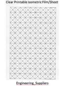 Clear-A4-Isometric-Grid-Printable-Sheet-10-12-7-20-25mm-squares-1-5-or-10-Pk