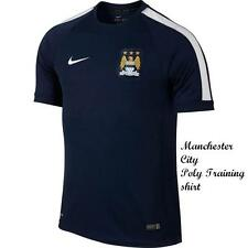 MANCHESTER CITY NIKE POLY TRAINING SHIRT TAGS/PACKET LARGE BOYS(30/32))