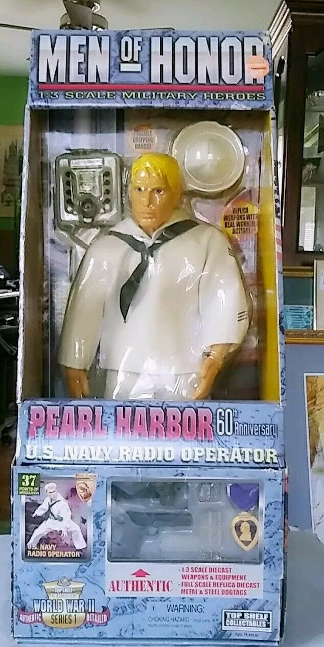 Men Of Honor 23  Figure Navy Radio Operator Pearl Harbor  60th Anniversary