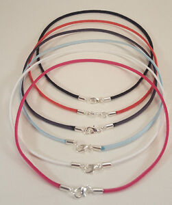 Suede-Lightweight-Surfer-Choker-Necklace-3mm-with-Silver-Lobster-Clasp-Unisex
