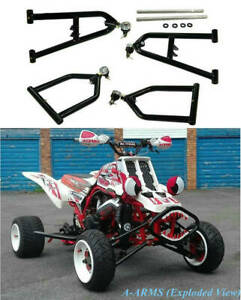Sport Extended A-bras 2 1 Plus larges pour Yamaha Banshee 350 Yfz350 1987-2006