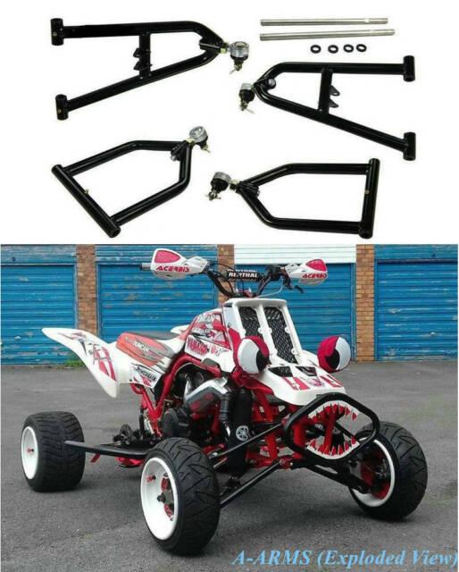 4pcs Sport Extended A-bras+2+1 plus larges Pour Yamaha Banshee 350 YFZ350 87-06