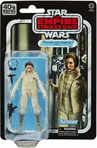 Star Wars Princess Leia Organa Hoth 40th Anniversary The Black Series Figure
