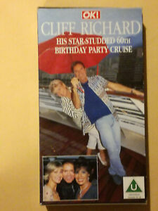CLIFF-RICHARD-60TH-BIRTHDAY-PARTY-CRUISE-VHS-CARD-CASE