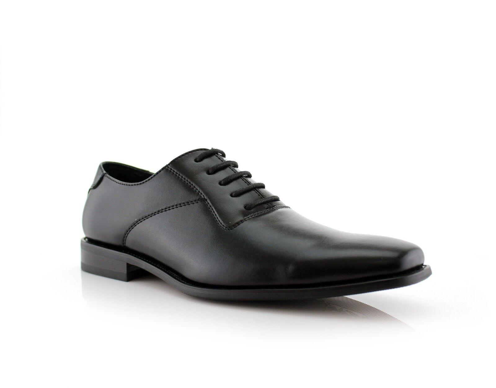 Ferro Aldo Jeremiah MFA19277  Men's Wing Tip Leather Lining Oxford Dress shoes