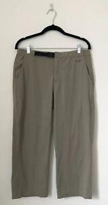 North-Face-Femme-Pantalon-Taille-8-Vert-Apex-Poches-Capri-Hiki-Marche-W30-L24