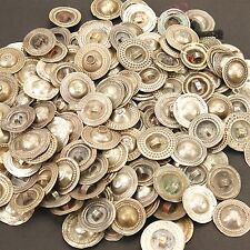 50 - DISHED Tribal BUTTONS BellyDance OLD Authentic ATS Belly Dance Kuchi