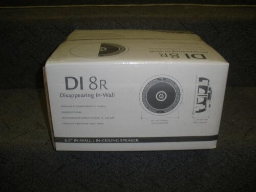 Definitive Technology DI 8R Round In-Wall Speaker di8r NEW Single