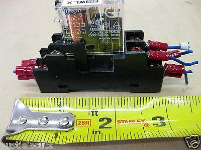 2pc ORIGINAL G2R-1A-E-24VDC 24V DC 16A G2R-1A-E 6Pin Power Relay OMRON
