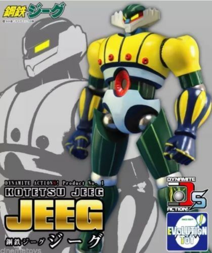 Evolution Toy Dynamite Action Kotetsu Jeeg Robot D`Steel