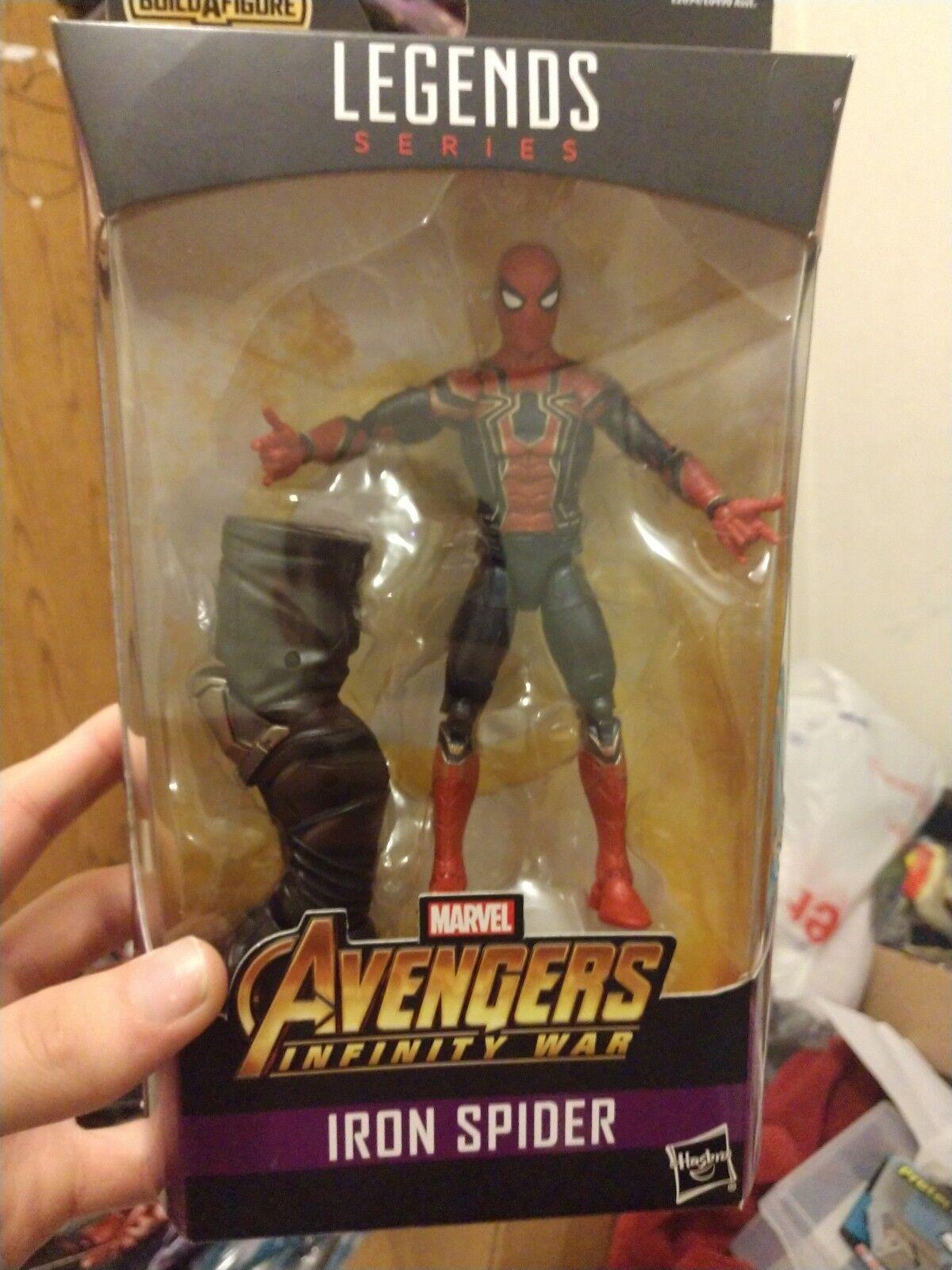 Marvel Legends Series Series Series Avengers Infinity War Iron Spider 6-Inch Figure NEW IN BOX b388ee