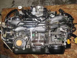Details about 00 05 SUBARU FORESTER 2 0L SOHC H4 EJ20 ENGINE JDM EJ201  MOTOR REPLACE EJ25 SOHC