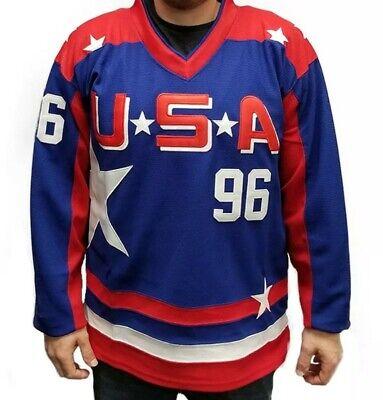 Charlie Conway # 96 Mighty Ducks Eishockey-Trikot Herren-Sweatshirts Atmungsaktives Langarm-T-Shirt NBJBK Hockey-Trikot