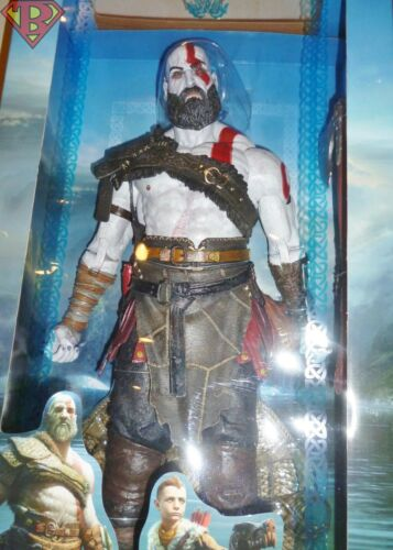 """KRATOS god of war Ultimate Collector/'s 1//4 Scale 18/"""" Action Figure NECA 2018"""