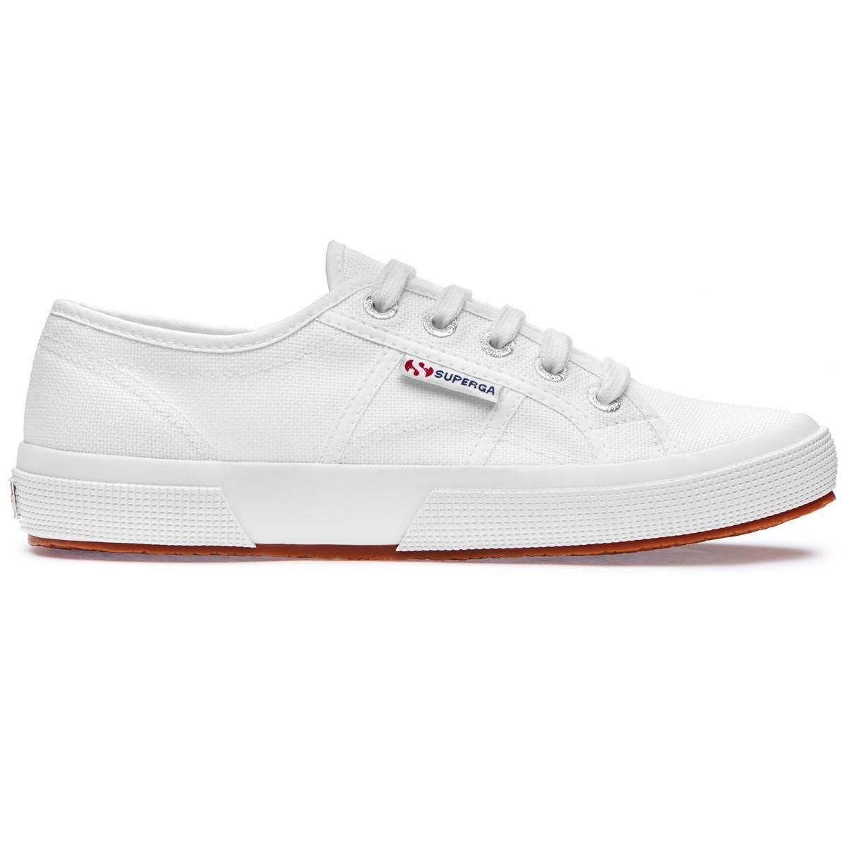 SUPERGA 2750 COTU CLASSIC S000010 shoes WHITE BIANCO 36 37 38 39 40 41 42 43 44