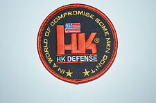 HECKLER& KOCH HK DEFENSE PATCH H&K P7PSP P7M8 P7M13 P30 HK45 G3 USP VP9 VP40 P9S