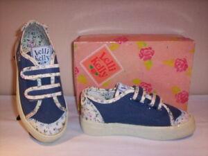 zapatillas-deportivas-suela-Lelli-Kelly-nina-bebe-zapatos-lona-azul-nuevos-27