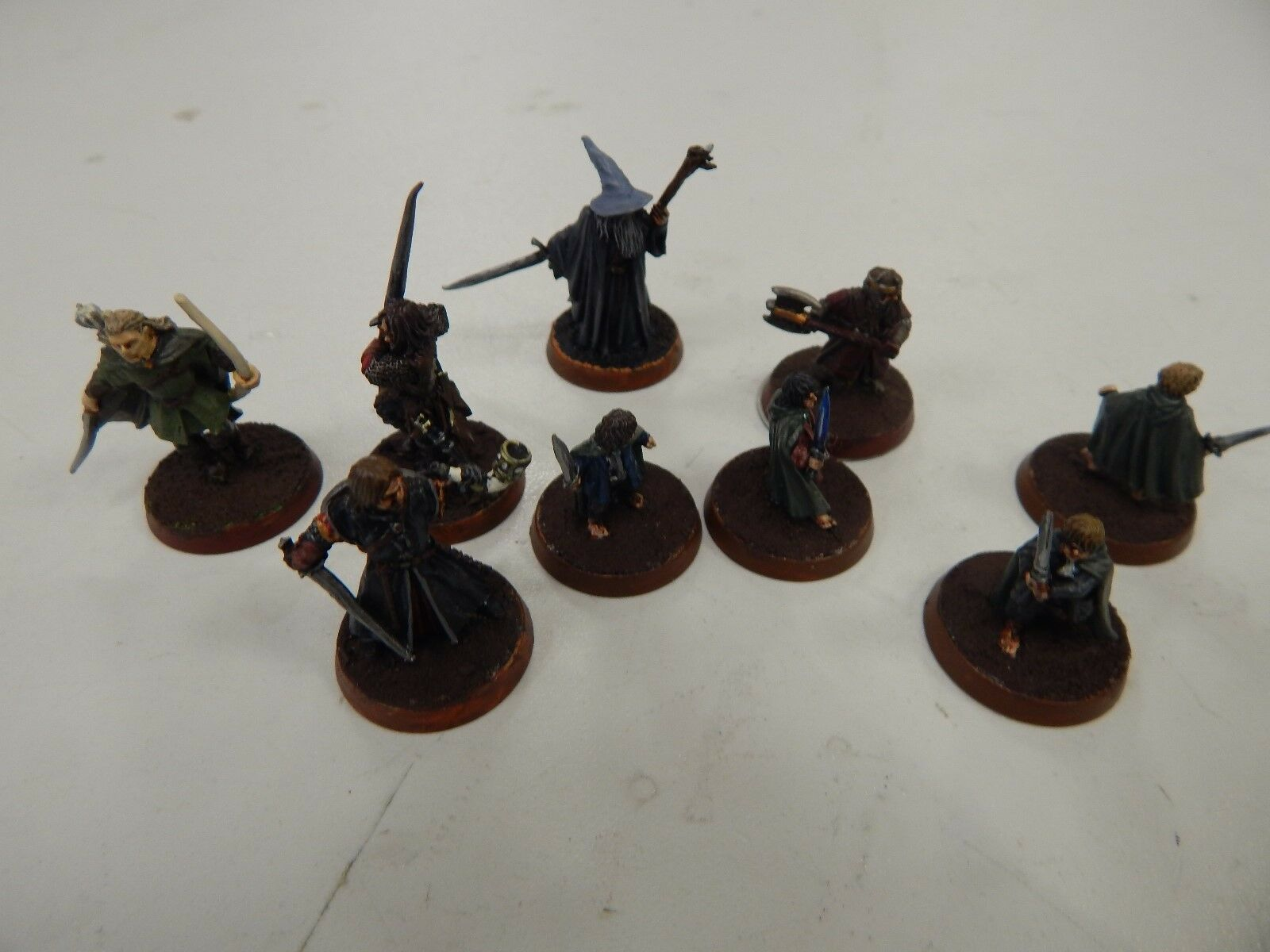 Games Workshop Lord of The Rings Fellowship of the ring set 9 figures