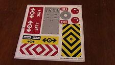 Lego - Red Cargo Train Set #3677 OEM Stickers Sticker Set Sheet New